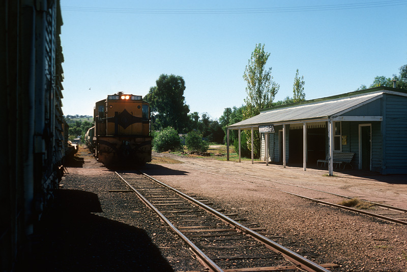 Wirrabara Australia  city photos gallery : The line to Wirrabara and its station appear to have opened on 27 ...